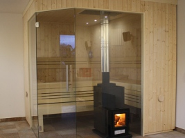 Holzbefeuerte Saunaöfen